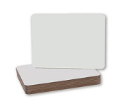 Flipside Products 10912 Dry Erase Board Squared Corners
