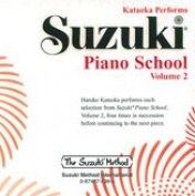 Alfred 00-0498 Suzuki Piano School CD- Volume 2 - Music Book