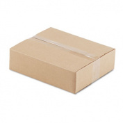 Corrugated Kraft Fixed-Depth Shipping Carton, 10w x 12l x 3h, Brown, 25/Bundle