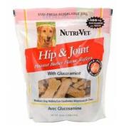 Nutri-Vet 00134-9 Hip & Joint Pnut Bttr Biscuit