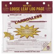 J.J. KELLER Duplicate Mid-Size Loose-Leaf Driver's Log Carbonless 615MP