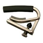 Shubb BC-25L 5th String Long Bar Banjo Capo - Stainless Steel