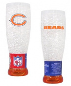 Chicago Bears Official NFL Crystal Pilsner Glass by Duck House 251042