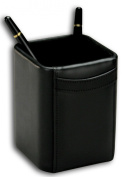 Dacasso A1010 Square Leather Pencil Cup