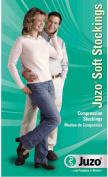 Juzo 2002ATFFOC10 I Soft Pantyhose Full Foot Open Crotch - Black