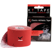KT TAPE Original Cotton Elastic Kinesiology Therapeutic Sports Tape, 20 Precut 25cm Strips, Breathable, Free Videos, Pro & Olympic Choice