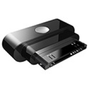 Qmadix QM-DSAAP4 Docking Station Adapter for Apple iPhone 4S-4 - Black