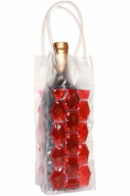 Natico 60-ICB902-RD WINE COOLER BAG 2 SIDED RED