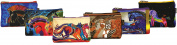 Laurel Burch LB4890 Cosmetic Bag Zipper Top Assortment 23cm . x 2.5cm . x 15cm .-Mythical Horse Minis -Assorted Designs