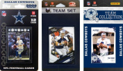 C & I Collectables COWBOYS3TS NFL Dallas Cowboys 3 Different Licenced Trading Card Team Sets