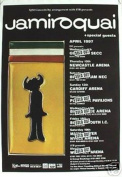 Hot Stuff Enterprise 9012-24x36-MU Jamiroquai Concert Tour Poster
