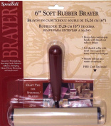 Speedball H41226 10cm . Deluxe Soft Rubber Brayer