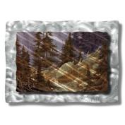 All My Walls LAN00007 Mountainside Metal Artwork