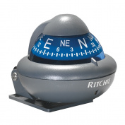Ritchie X-10-A RitchieSport Automotive Compass - Bracket Mount - Grey