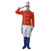 Dress Up America 344-L Adult Toy Soldier Costume - Size Large