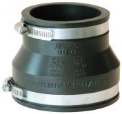Fernco Drain Tubes & Fittings 10cm . x 7.6cm . PVC DWV Mechanical Flexible Coupling P1056-43