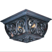 Maxim Lighting 40129CDOB Newbury VX 10.5 W 2-Light Outdoor Ceiling Mount - Oriental Bronze