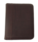 Piel 2044-CHC Chocolate Small Notepad Cover