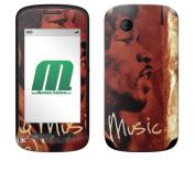 MusicSkins Jimi Hendrix Hear My Music Skin for ZTE Libra