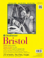 Strathmore ST342-119 48cm . x 60cm . Vellum 300 Series Tape Bound Bristol Paper - 20 Sheets