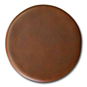 Dacasso A3271 Rustic Brown Leather Round Coaster