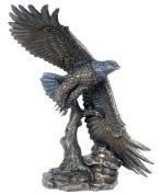Unicorn Studios WU74890A4 Flying Eagle Sculpture