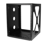 StarTech RK1219SIDEM Accessory 12U 19inch Wall Mount Side Mount Open Frame Rack Cabinet Retail
