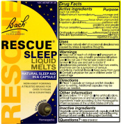 Bach Rescue Remedy Rescue Sleep Liquid Melts 28 capsules 223744