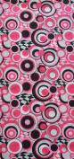 O3 O3MFHK041 O3 Kids Rag Tops Convertible Headwear - Black Pink Circles