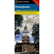 National Geographic GM01020318 Map Of Pennsylvania