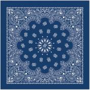 Liberty Mountain 518051 Bandanas with Hang Tag and UPC - Blue