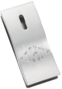 Visol VMC63 St. Louis Stainless Steel Curved Money Clip
