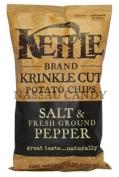 Kettle Chips 36089 Salt & Fr Pp Krinkle Chips