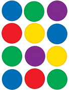 Teacher Created Resources TCR5127 Colourful Circles Mini Accents