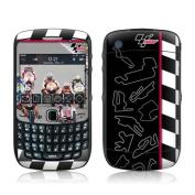 DecalGirl BBC5-FLGRP BlackBerry Curve 8500 Skin - Finish Line Group
