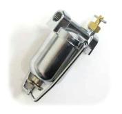 Dickinson Marine 20-010 Fuel filter and Brass Manual Shut Off