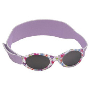 Real Kids Shades 024PURPHRTS My First Shades Purple Hearts with Light Lavender Adjustable Bands 0-24 Months