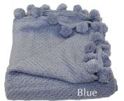 Woven Workz 087-004 Jubilee Throw - Blue