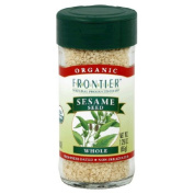Frontier Herb 28479 Organic Hulled Whole Sesame Seeds