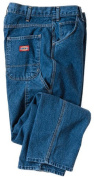 Dickies 110cm . x 80cm . Indigo Blue Relaxed Fit Utility Jeans 1993SNB 42x32