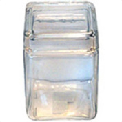 Anchor Hocking 1.4l Stackable Glass Jar With Metal Lid 85588R - Pack of 4
