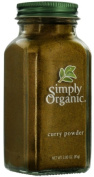 Simply Organic Curry Powder Certified Organic, 90ml Bottle