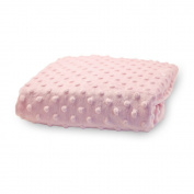 Rumble Tuff CV-CT-200-PK Standard Minky Dot Changing Pad Cover - Pink