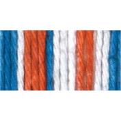 Spinrite Sugar's Cream Yarn Stripes, American