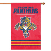 Party Animal, Inc. AFPAN Applique Banner Flag - Florida Panthers