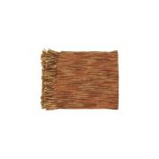 Surya TEE1008-5578 140cm x 200cm Teegan Throw - Rust-Brown-Camel