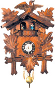 Alexander Taron 930QPT Carved Quartz Wall Clock
