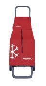 Rolser 8420812920815 NEO001 Joy Shopping Trolley Bag Neo-LN - Red - 2 Units
