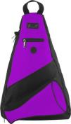 Pzazz Performance Wear SL50 -PUR -L SL50 Megaphone Sling Pack - Purple - Large