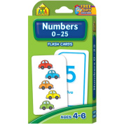 School Zone Publishing Numbers 0-25 Flash Cards